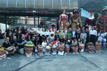 Els Nans i els Gegants de la Ciutat convidats al 50è aniversari de l'agermanament amb Andorra la Vella