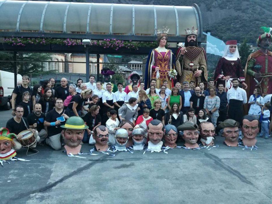 50è aniversari agermanament amb Andorra la Vella