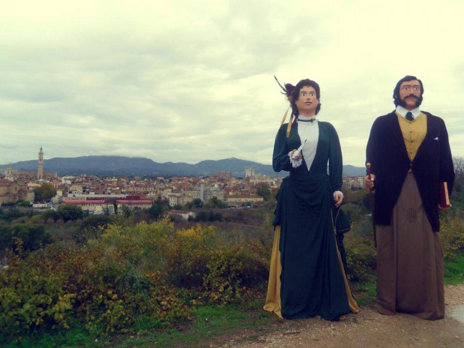 Gegants Pau i Isabel de Galceran