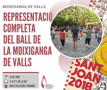 Representació completa de la Moixiganga de Valls @ Arcs del Celler del Paborde, Ca Magrané | Valls | Catalunya | Espanya