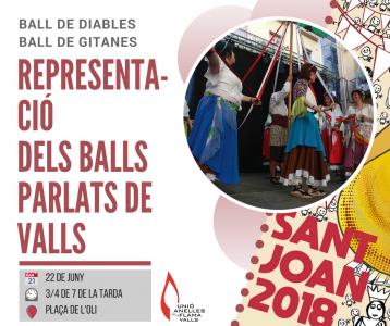 Representació dels balls parlats de Valls @ Valls | Catalunya | Espanya