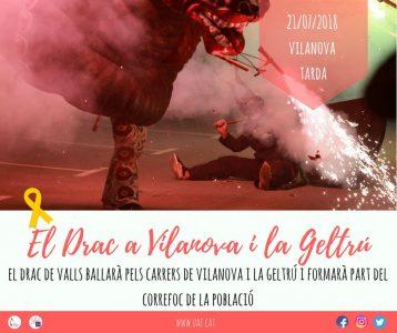 Drac de Valls @ Vilanova i la Geltrú | Catalunya | Espanya