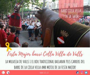 Mulassa i Bou @ Barri de la Colla Vella | Valls | Catalunya | Espanya