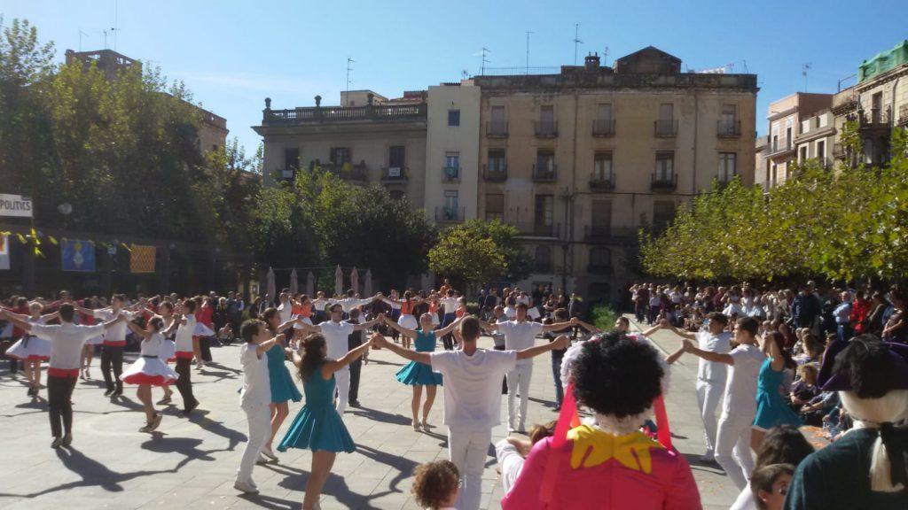 Final del Campionat de Catalunya de colles sardanistes 2018 a Valls