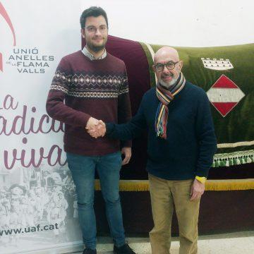 Albert Oliva és escollit nou president de la Unió Anelles de la Flama