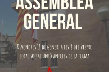 Assemblea General Ordinària 2019 de la Unió Anelles de la Flama