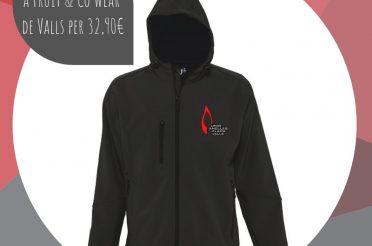 Nova jaqueta de la Unió Anelles de la Flama