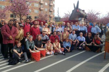 La Mulassa, el Lleó i el Bou Tradicional de Valls participen en el 32è Aplec Internacional celebrat a Copenhaguen