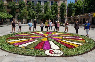 La UAF guanya el concurs de catifes de Corpus de Valls
