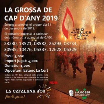 Participacions de la Grossa de Cap d'Any 2019