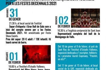 La Unió Anelles de la Flama comença el compte enrere per les Festes Decennals 2021.
