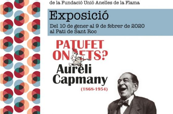 Valls Folklòrica: Exposició Aureli Capmany, vida i obra a partir d'en Patufet