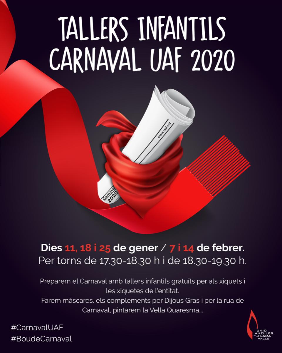 Tallers-Infantil-Carnaval-UAF-2020