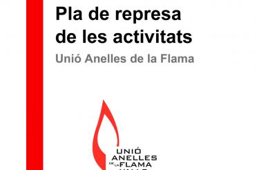 El divendres 9 d'octubre s'inicien, de nou, les activitats al local social de la Unió Anelles de la Flama