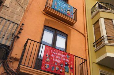 La Festa Major de Sant Joan de Valls estrena el nou domàs decoratiu