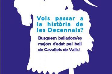 Objectiu Decennals: La Unió Anelles de la Flama busca balladors pel nou ball de cavallets